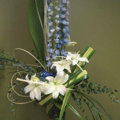 Arrangement fleurs, Salutations ! AOU-3