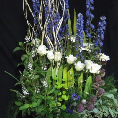 Fleurs pour urne funéraire. Le chic au pluriel ! FCOC-3