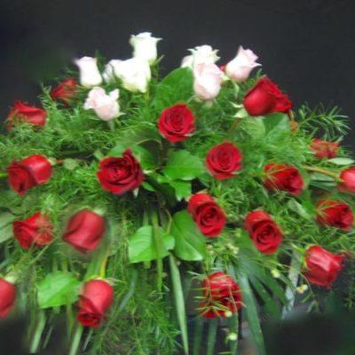 Coussin de cercueil. L'amour éternel ! FC-1