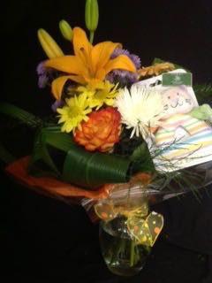 Bienvenue bébé et fleurs! PCB-2