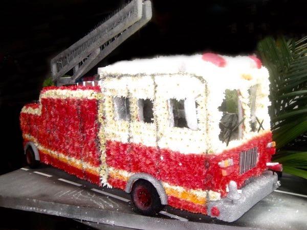 Camion de Pompier rouge! FS-12