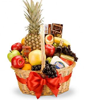 Panier de fruits. Bon appétit. PF-1