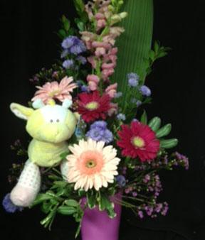 Fleurs naissance.C'est une fille ou un garçon ! AOB-1