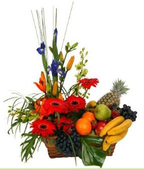 Panier de fruits et de fleurs ! PF-4