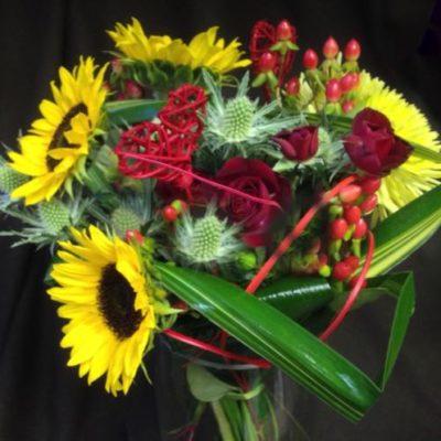 Fleurs Saint-Valentin. Cupidon d'amour ! AE-27