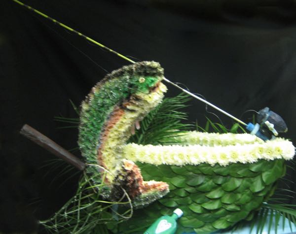 Trophée de pêche en fleurs ! FS-34