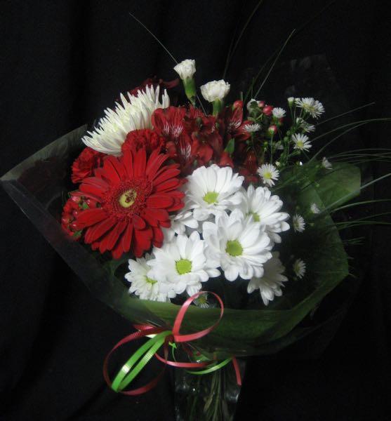 La canadienne ae 18 aux pens es fleuries for Bouquet de fleurs 10