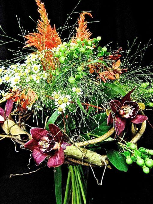Fleurs orchidées. Feu d'artifice ! AE-37