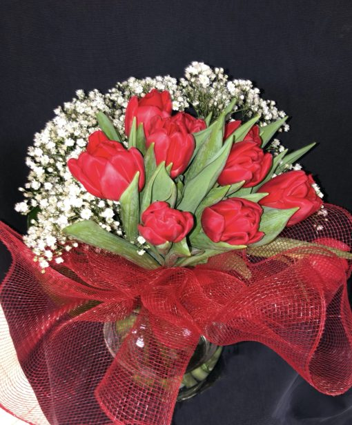 Tulipes rouges.Rouge d'amour FV-02-20